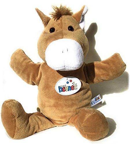 Ventilkappenkönig Pferde Handpuppe Pferd Esel Kinder Plüsch Kuscheltier Stofftier Geschenk Puppe Theater 35cm