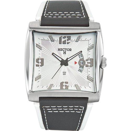 0515363acc09 Hector H 665344 - Reloj analógico de Cuarzo para Hombre con Correa de Piel