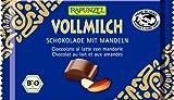 Rapunzel Vollmilch Schokolade mit ganzen Mandeln HIH, 6er Pack (6 x 100 g) - Bio
