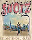 Shotz: 8x10 150 Pages Glossy Finish Blank Basketball Court Templates Book 3