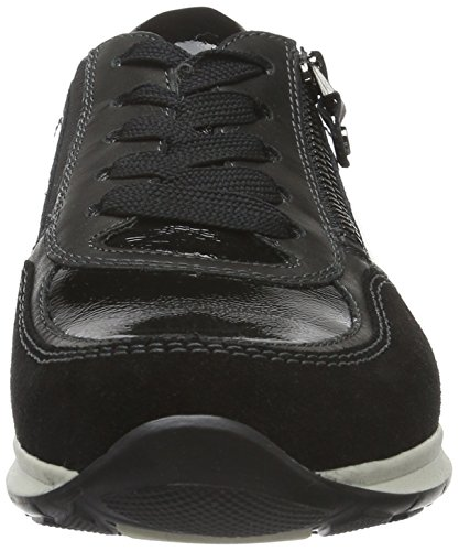 ara Damen Helsinki Sneakers Schwarz (schwarz 01)