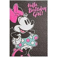 Hallmark Minnie Mouse Birthday Girl Card 'Fabulous' - Medium
