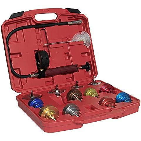 Sungle Conjunto detector de fugas de refrigerante universal del radiador para coche