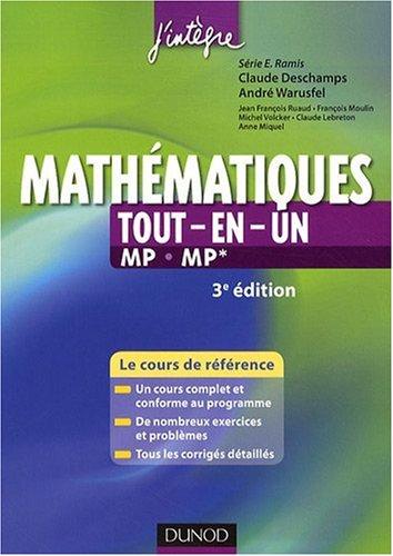 Mathématiques tout-en-un 2e année MP-MP*