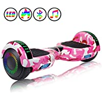 Huanhui Hoverboard, 6.5 inch Self Balancing Electric Scooter with Safe UL2272 Certified, Segway for Kids and Adult, Great Gifts