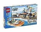 LEGO City 7726 - Strand-Truck der Küstenwache mit Schnellboot