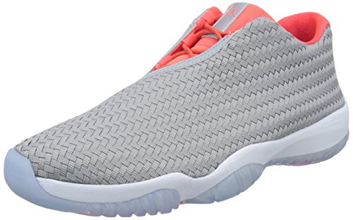 Nike Air Jordan Future Low, Scarpe sportive Uomo Wolf Grey/Infrared 23/White