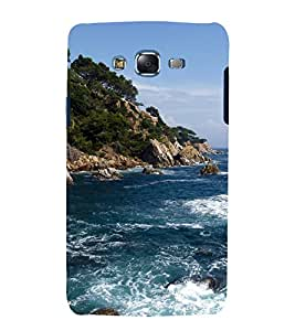 printtech Nature View Seashore Forest Back Case Cover for Samsung Galaxy J7 / Samsung Galaxy J7 J700F