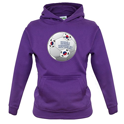 Dressdown Country Football Korea Republic - Childrens/Kids Hoodie - 9 Colours - Ages 1-13 Years
