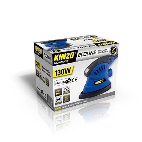 KINZO Mouse sander 230 V 130 W, blau, 71781