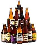 Saveur Bière - Les meilleures Trappistes - Pack de 12 bières (33 cl) - Idée cadeau