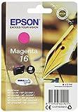 Epson Original T1623 Füller, wisch- und wasserfeste Tinte (Singlepack) magenta