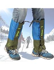 Bazaar Outdoor Klettergamaschen Schnee Legging Schuhe Cover Wasserdichte Wander Hose Protector