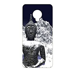 Vibhar Premium Printed Matte Designer Back Case Cover for Samsung Galaxy S4 - Ice Buddha