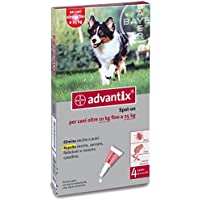 advantix spot 10-25 kg 4 pipette