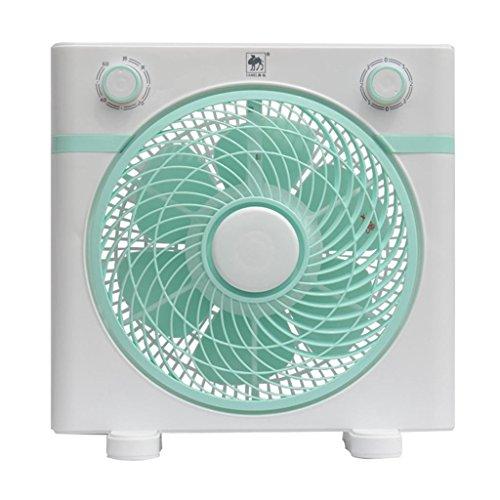 DZW Angolo ventilatore a ventaglio del ventilatore pagina fan 3 velocità 330mm / 10 pollice tempo silenzioso 60 minuti per la casa , blueMolto silenzioso nessun ventilatore a foglia