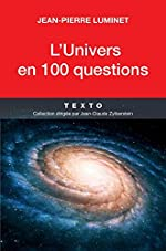 L'univers en 100 questions de Jean-Pierre Luminet
