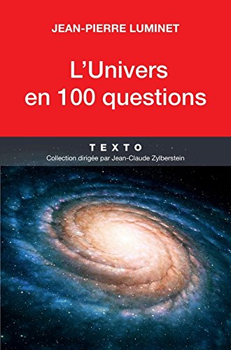 L'univers en 100 questions par Jean-Pierre Luminet