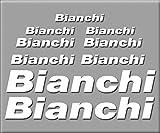 PEGATINAS BIANCHI BIKE R241 VINILO ADESIVI DECAL AUFKLEBER MTB STICKERS BIKE BLANCO