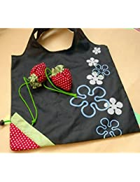 1pc New Special Shopping Bags Strawberry Shape After Fold-able Eco Shopping Storage Bag Load-bearing About 20kg