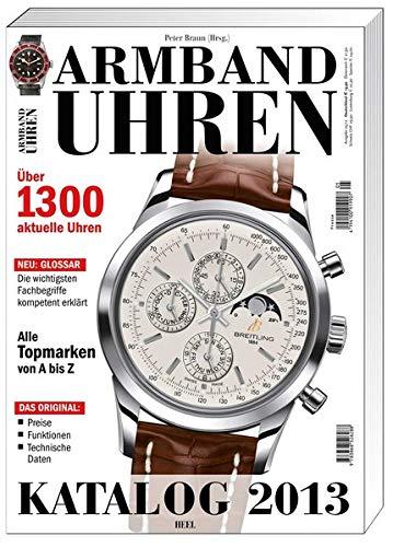 Armbanduhren Katalog 2013
