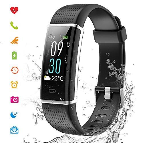 Preisvergleich Produktbild Cotify Fitness Tracker mit HD Farbdisplay Clevere Fitness Uhr Armband,  Aktivitäten Tracker,  Schlaf,  Puls,  Sport,  GPS,  Tracker,  Kalorienzähler,  Bluetooth,  Kompatibel mit iOS & Android