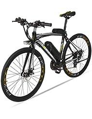 BNMZX Bicicleta eléctrica, Bicicleta de Carretera Masculina/Femenina, Capacidad 240W / 36V /