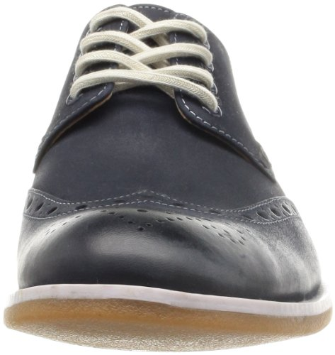 Clarks Farli Limit, Chaussures à lacets homme Bleu (Midnight Blue)