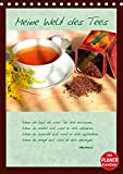Meine Welt des Tees (Tischkalender 2019 DIN A5 hoch): Tee wird besonders in der heutigen stressigen Zeit als wohltuendes Getränk geschätzt. (Planer, 14 Seiten ) (CALVENDO Lifestyle)