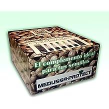 Caja expositor de Complemento para Semillas y Tutor para Plantel Hortícola Medussa-Protect (Multicolor) 125 unidades