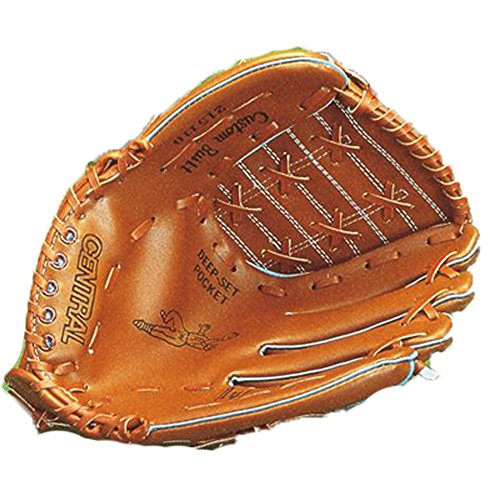 Central Deluxe Softball leicht Fangen Handschuh Baseball Fielders Pad l.h oder R.F., Right Hand -