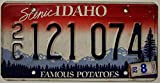 USA Nummernschild Scenic IDAHO ~ US Kennzeichen Famous Potatoes ~ Blechschild