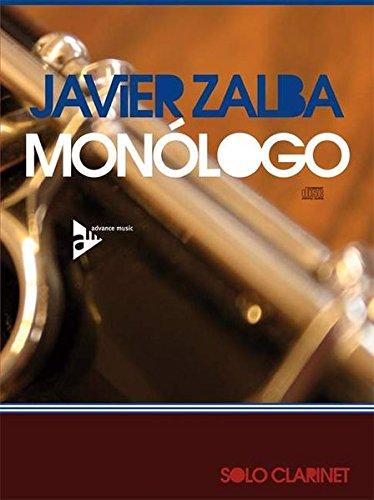 Monólogo: Klarinette (in A oder B). Ausgabe mit CD. (Advance Music)