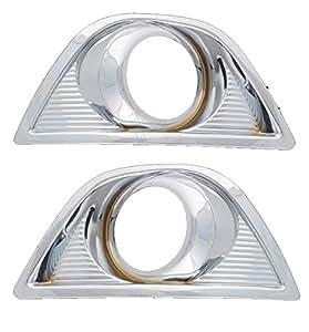 Speedwav 23117 Fog Lamp Rim for Ford Figo (Chrome)
