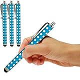 ONX3 Zte open C Polka capacitiva di alluminio dello stilo della penna di tocco (3 pezzi) (Baby Blue)