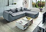 HTI-Living Wohnlandschaft Rimanda Sofa, Ecksofa, Schlafsofa, Couch,