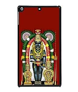 Snapdilla Designer Back Case Cover for Apple iPad 2 :: Apple iPad 3 :: Apple iPad 4 (Design Statue Background Wallpaper Hindu Art Culture)