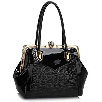 LEESUN LONDON Women Handbag Shoulder Bag Patent Bag Designer Bags For Women Tote Bag