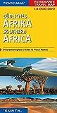 Reisekarte : Südliches Afrika -
