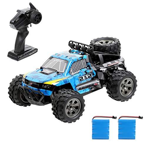 Tomatu Ferngesteuertes Auto, 1:18 2WD RC Auto Off Road Buggy, 2.4 Ghz Radio Control Geländewagen Spielzeug Fahrzeug für Kinder Erwachsene*