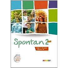 Spontan 2 neu palier 1 - 2e année - Livre + DVD-rom