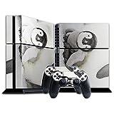 Pinguin 003, Süßes Baby, Designfolie Sticker Skin Aufkleber Schutzfolie mit Farbenfrohem Design für Playstation 4 CUH 1200