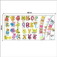 26 English Alphabets Decorative Wall Stickers For Children Kindergarten Wall Decor Small Size