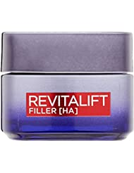 L'Oreal Paris Gesichtscreme Anti Age Revitalift Filler Hyaluronsäure Anti Aging Nachtcreme 50ml