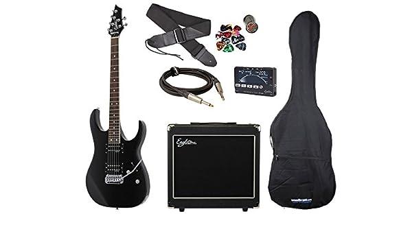 Eagletone Raven Guitare /électrique Noir