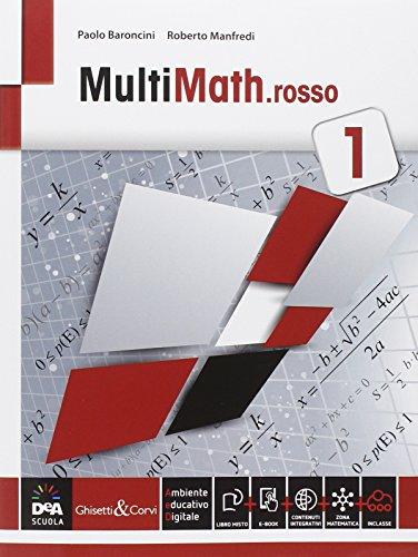 Multimath rosso. Per le Scuole superiori. Con e-book. Con espansione online: 1
