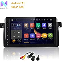 freeauto Single DIN Android 7.1 para BMW 3 Series E46 9 pulgadas en Dash HD pantalla táctil coche reproductor de vídeo Multimedia DVD GPS navegación estéreo ...
