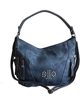 Damen Schultertasche und Umhängetasche in einem von Jennifer Jones - sehr schöne Damentasche Jeanstasche Handtasche...