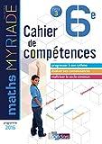 Myriade Cahier compétences 6e 2018