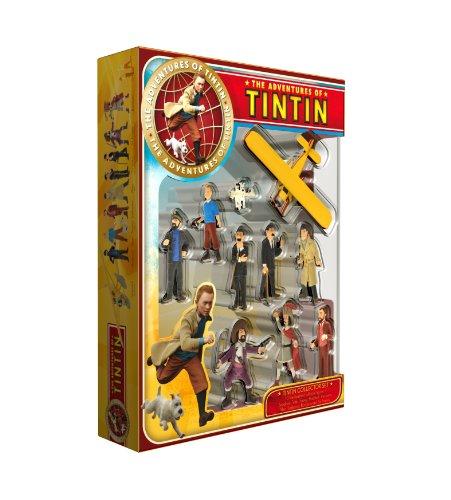 Plastoy Las Aventuras de Tintín - Juego de Figuras de colección 1